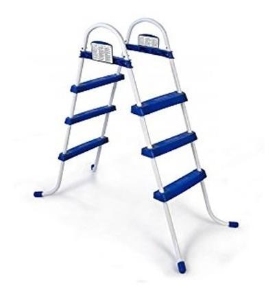 pileta inflable bestway 457x107 + completa con escalera