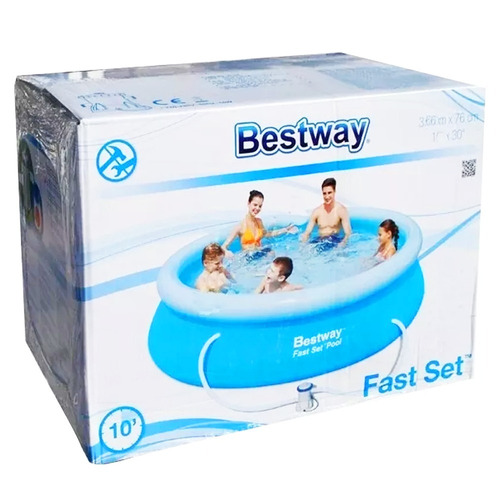 pileta inflable circular fast set 366x76 cm bestway 57032