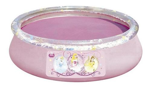 pileta inflable con juego de princesas aro inflable original