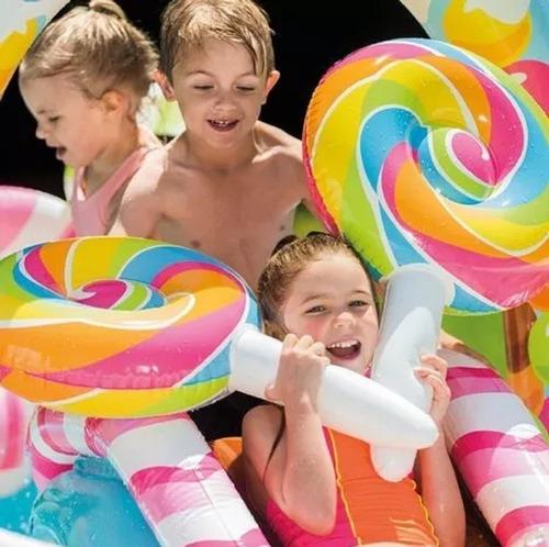 pileta inflable para niños y bebes candy infantil juegos