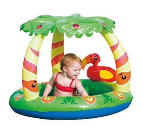 pileta inflable pelotero con techo bebe bestway 52179 luico