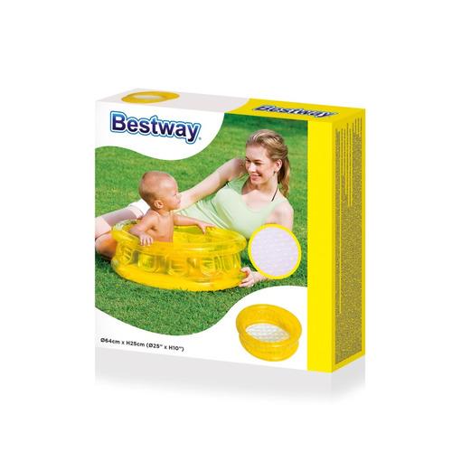 pileta inflable transparente kiddie bestway (6588)