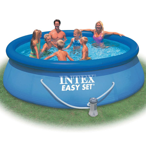 pileta intex easy set 10681lts 457 x 91 cm + bomba filtrante