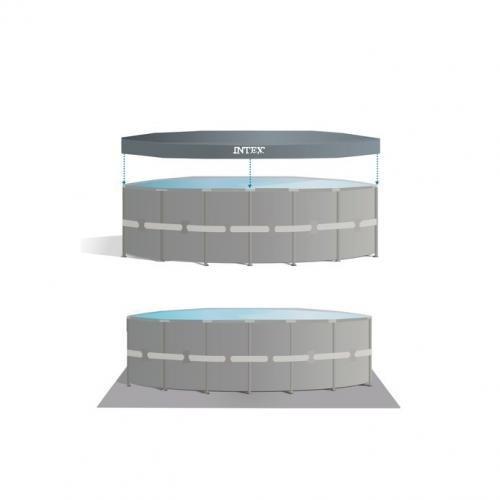 pileta intex estructural redonda grande 19156lt 488 x 122 cm