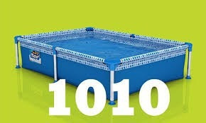 pileta pelopincho de lona 1010 1.55 x 1.07 x 0.30 mts 500 l