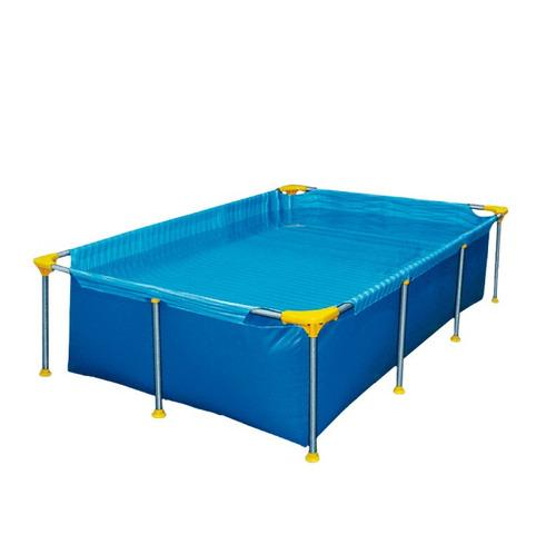 pileta rectangular estructural 400x200x65 cm piscina full
