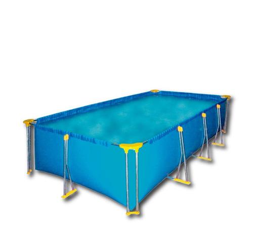 pileta rectangular estructural 515x215x80 doble parante