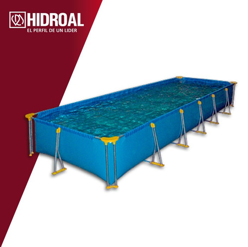 pileta rectangular piscina
