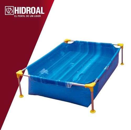 pileta rectangular piscina lona
