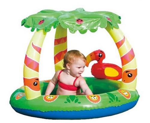 piletas bebes inflable bestway 52179 pileta con techo selva