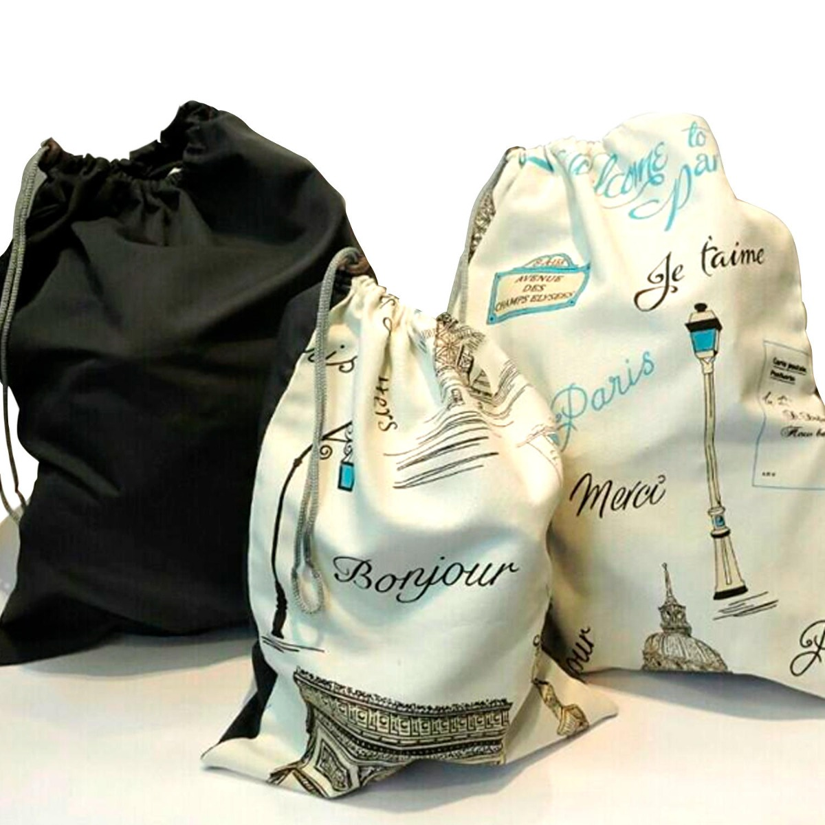 a1c766284 Pilgrim Travel Bag, Pack 3 Un- Diseño Paris - $ 20.490 en Mercado Libre