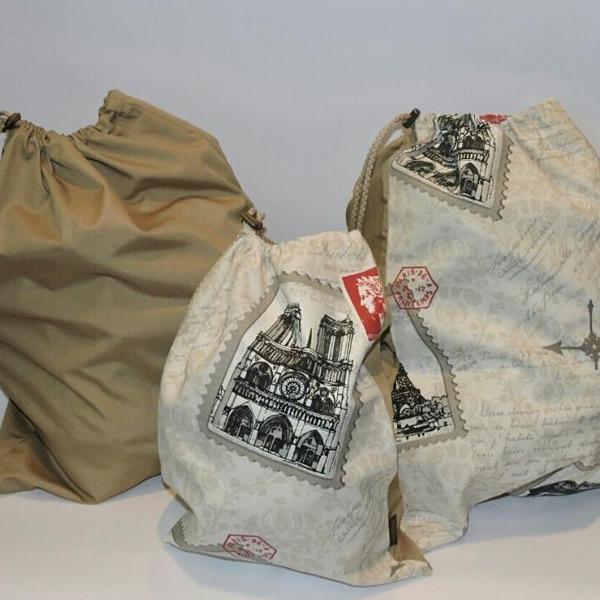 d94797121 Pilgrim Travel Bag, Pack 3 Un- Diseño Stamps - $ 20.490 en Mercado Libre