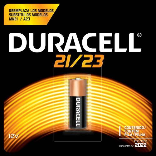 pilha bateria 12v alcalina duracell 21/23 mn21-b p/ controle