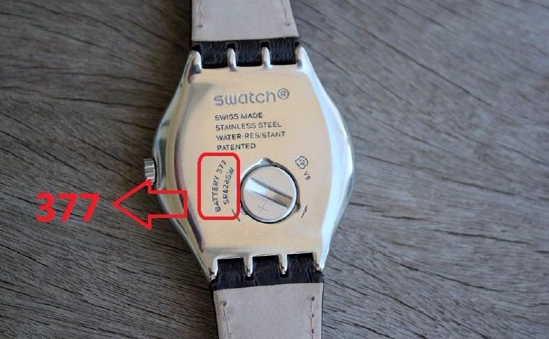 2a2e30c0867 Pilha Bateria 377 Sr626sw Renata Suiça Original P  Swatch - R  15