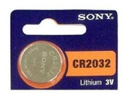 pilha botão sony - cr2032 - 3v lítio cartela com 5