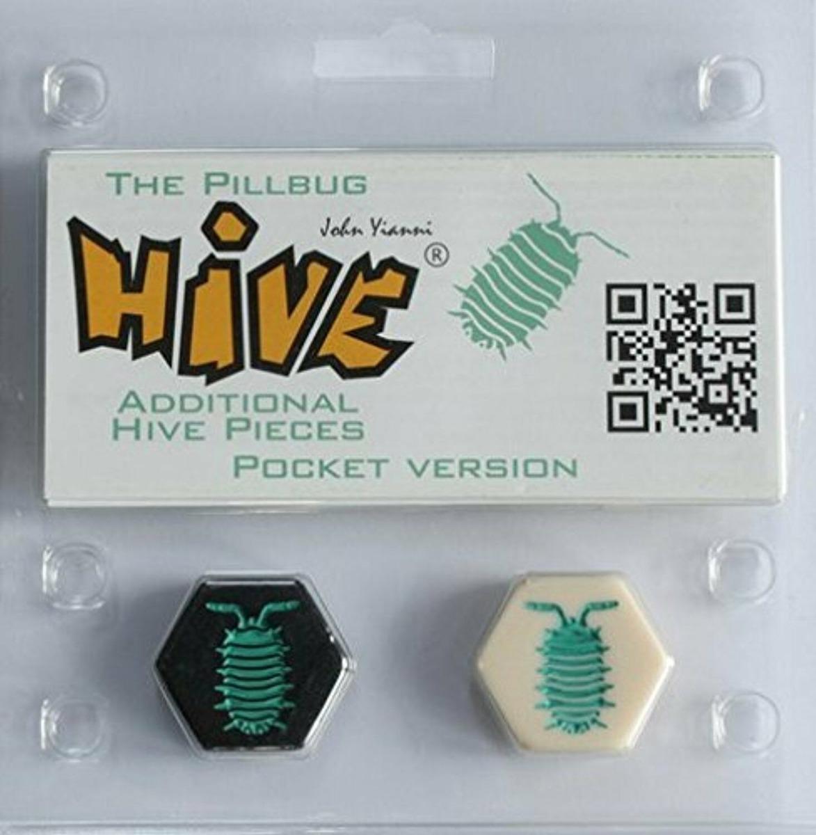 c14ebc60e Características. Marca Gen42 Games  Nome do jogo de tabuleiro Pillbug   Edição hive pocket ...