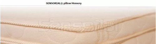 pillow top desmontable sensorial viscoelastico 160x200 5 cm