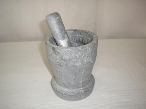 pilão em pedra sabão 12,5 cm
