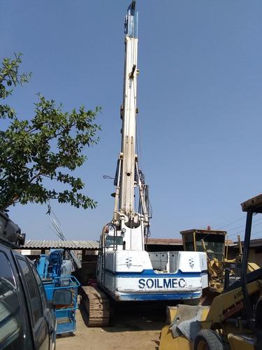 piloteadora soilmec r-312 perforadora