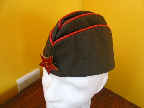 pilotka gorra cuartelera soviética urss.