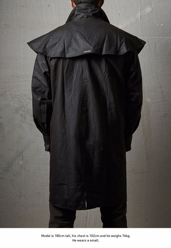 piloto impermeable driza-bone australiano short coat