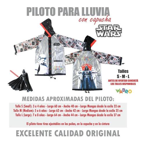 piloto para lluvia star wars licencia original mundo manias