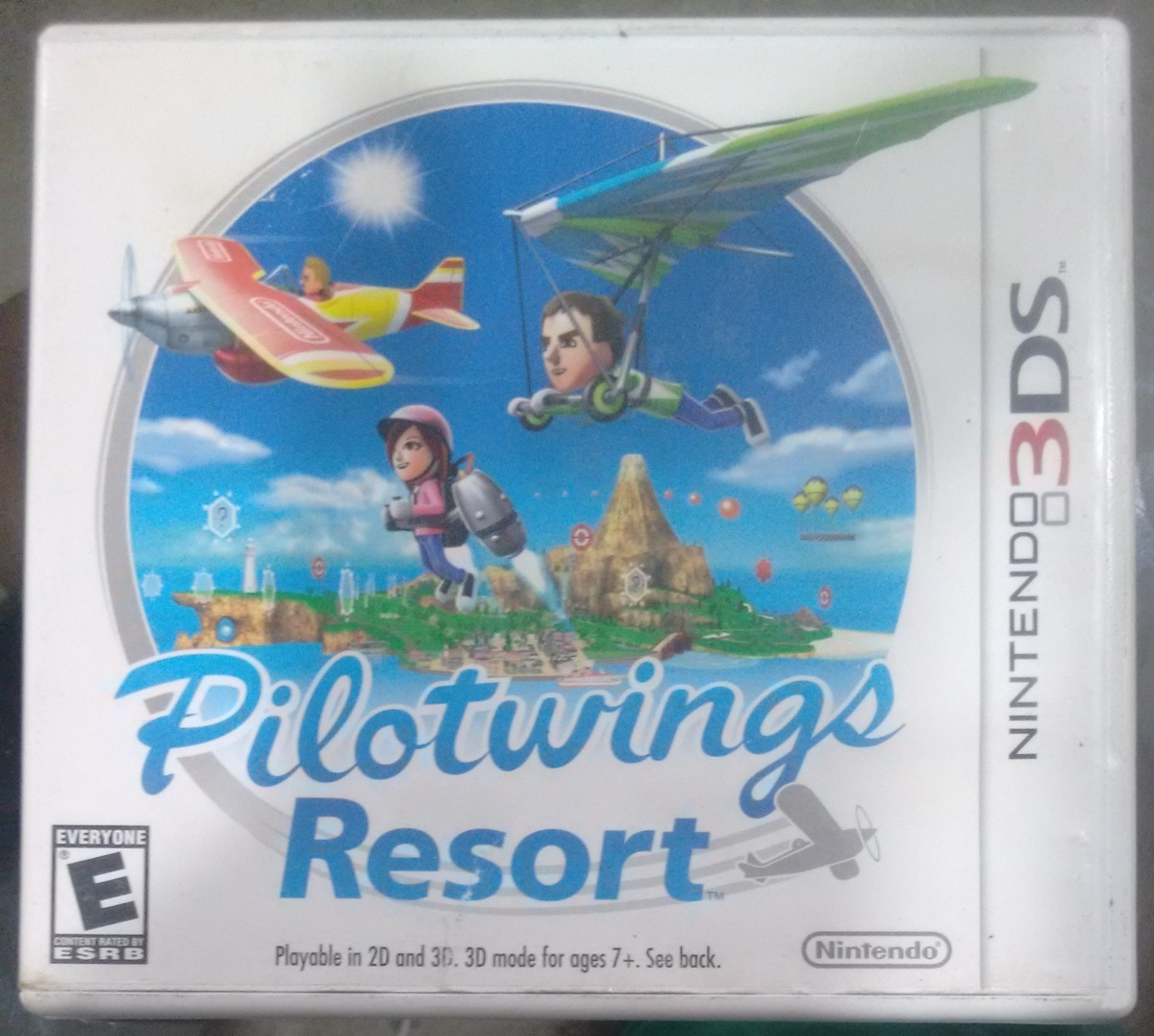 pilotwings resort + donkey kong nintendo 3ds seminovo. Carregando zoom. f7f7a259c59