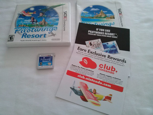pilotwings resort nintendo 3ds original americano completo