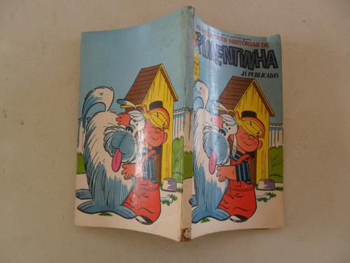 pimentinha nºs 1, 3 e 7! encadernado! vecchi 1977!