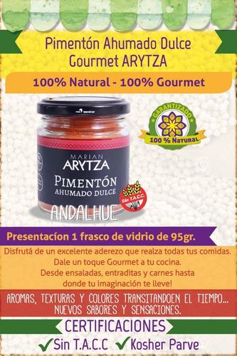 pimentón ahumado dulce gourmet arytza sin tacc nuevo!