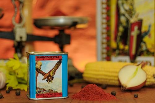 pimenton español dulce picante y ahumado por 6 latas