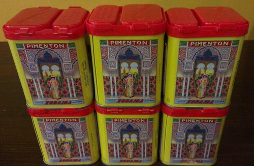 pimentón español en lata la zoraida, reale productos gourmet