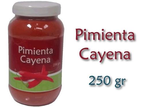 pimienta cayena 250grs chili sazonadores, condimentos kesane