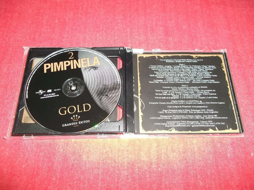 pimpinela - gold cd doble nacional ed 2001 mdisk