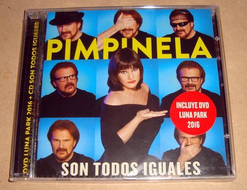 pimpinela son todos iguales cd + dvd sellado