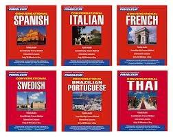 pimsleur, ingles facil y rapido 9 idiomas completos regalo