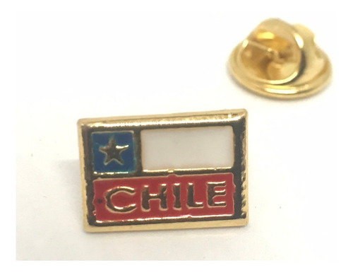 pin bandera chile  (4133)