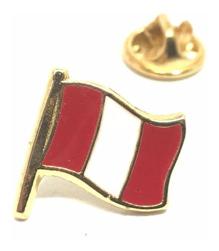 pin bandera perú