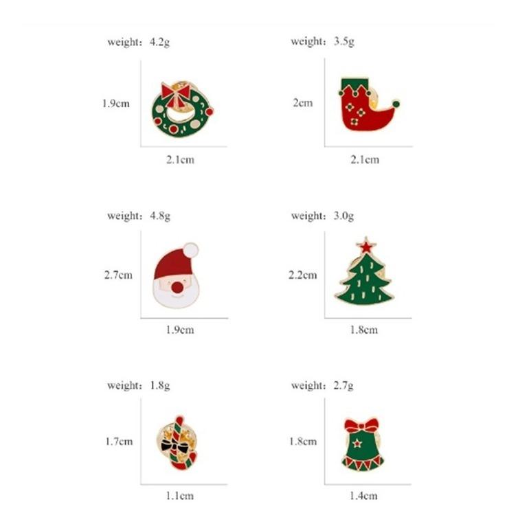 e64ea37f9f Pin Broche Prendedor Accesorios Navidad Regalos Accesorio - $ 3.900 ...
