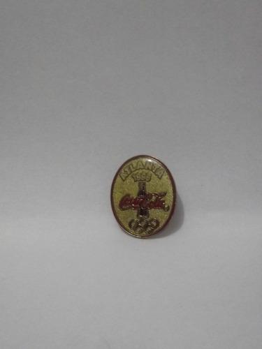 pin coca cola atlanta 1996 olimpiadas -
