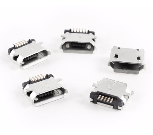 pin de carga ficha micro usb 5 pines de tablet y smartphone