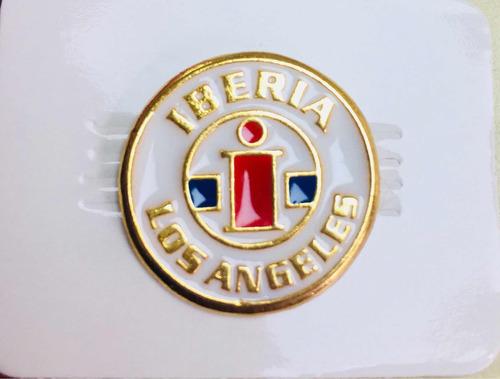 pin deportes iberia de los ángeles