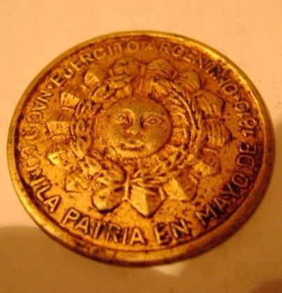 pin escudo del ejercito argentino
