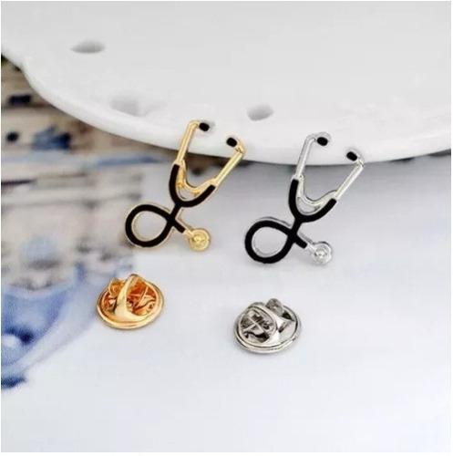pin estetoscopio pin médico doctora enfermería doctor broche
