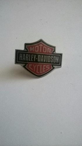pin harley davidson metalico