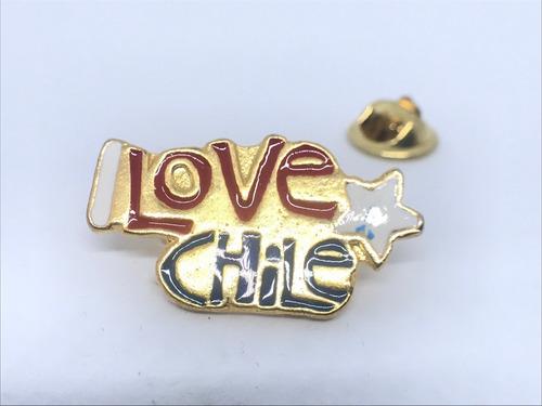 pin i love chile (4188)