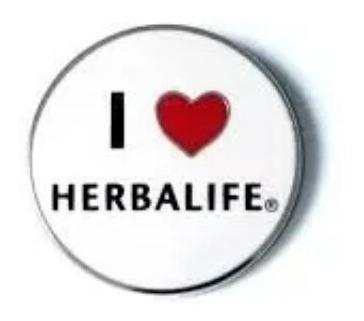 pin i love herbalife (leer descripcion)