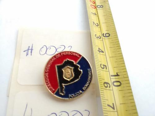 pin insignia distintivo policia bonaerense personal