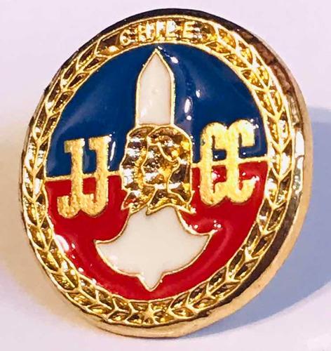 pin juventudes comunistas de chile jjcc