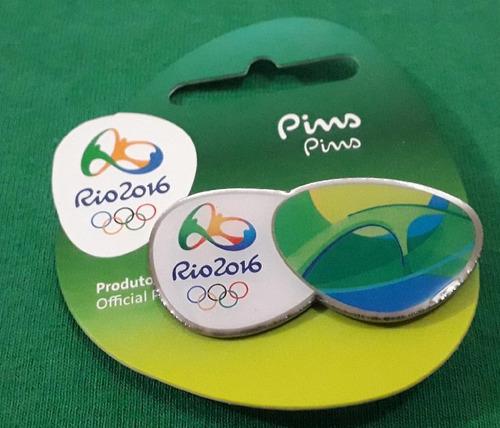 pin olímpico - rio 2016 - apoteose - memorabilia